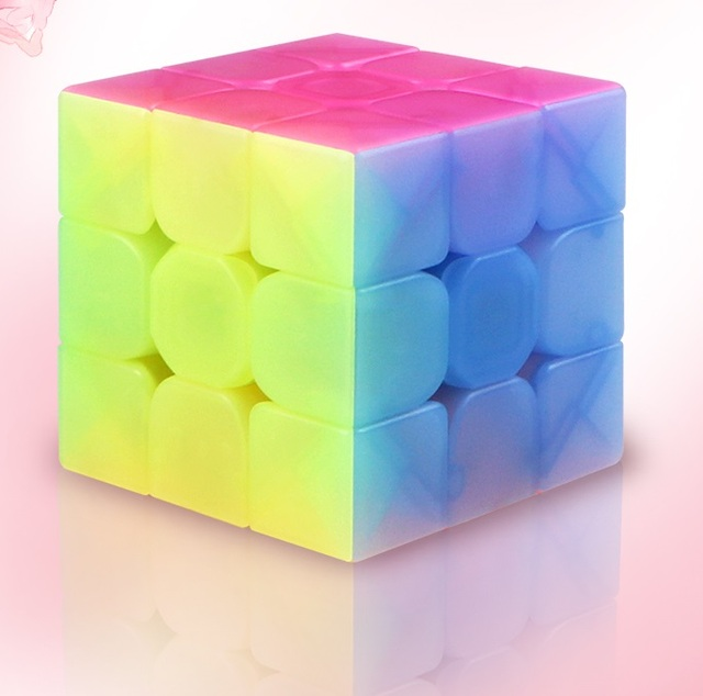QiYi Warrior W 3x3x3 carbon fibre Professional Magic Cube Competition 3x3 Speed Puzzle Cubes Toys For Children Kids Best Gift 2