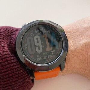 Image 5 - Crystal Clear TPU מקרה עבור Garmin Fenix 6 6S 6X פרו רך סיליקון מגן Case כיסוי עבור Vivoactive 4 4S שעון אבזרים