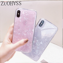 Luxury Shell Glossy Diamond Phone Case For iPhone 6 6s 7 8 plus X Xs XR Xs Max Transparent Soft TPU Silicone Back Cover glossy soft tpu back case shell for iphone 6 plus 6s plus dreamcatcher pattern