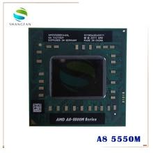 Amd Laptop CPU A8 5500M serie A8 5550M A8 5550M AM5550DEC44HL Buchse FS1 CPU 4M Cache/2,1 GHz/Quad Core Notebook prozessor