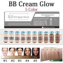 5ml Korean Ampoule Facial Booster Whitening Acne Healing Treatment Meso White Booster Ampoule Serum Starter Kit BB Cream Kit