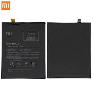 Image 2 - Bateria de celular original xiao mi max2 mi max 2, bateria bm50 mi max bm49 mi max3 max 3 bm51 ferramentas de substituição sem pilhas