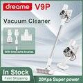 Dreame V9 V9P ручной Батарея вакуумный уборщик пола Портативный мощный беспроводной Беспроводной вертикальный пылесос для уборки дома