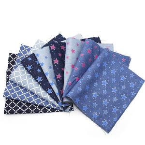 David-Accessories Cotton-Fabric Sewing-Dress Cloth-Making Patchwork Printed Polyester