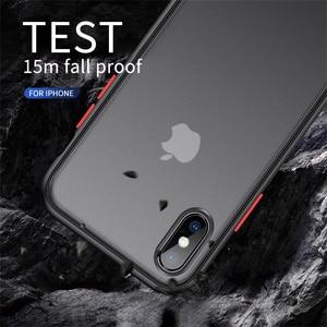 Image 5 - Stoßfest Transparente Hybrid Silicon Telefon Fall Für iPhone 12 Mini 11 Pro Max X XS XR Max 8 7 6 S Plus SE Klar weiche Rückseitige Abdeckung