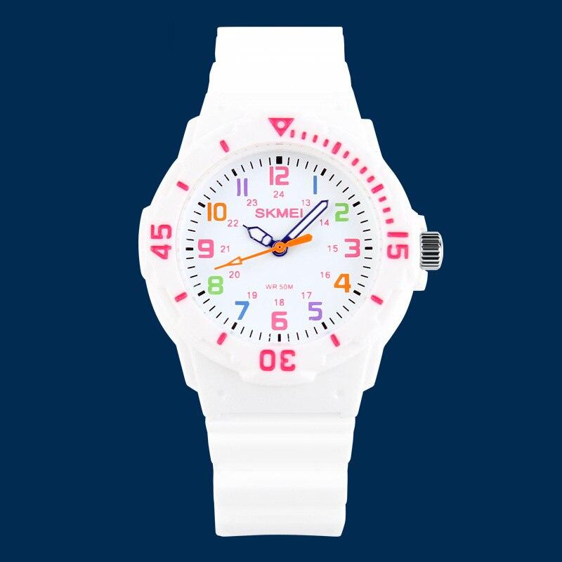 TurnFinger Fashion Children% 27s Кварц Часы Многоцветный Водонепроницаемый Простой Эстетичный Тренд Роскошь Текстура Праздник Подарок Выбор