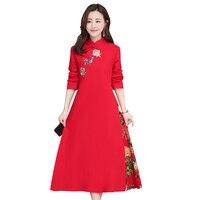 2020 satin dress qipao lady traditional chinese dress improved cheongsam women mandarin collar silm qipao dress elegant robe
