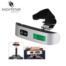 Luggage-Scale Electronic-Scale Hand-Held Digital 50KG Capacity-Weighing-Device Mini LCD