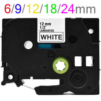 Multi colors Tze231 Label Tape Compatible for Brother P Touch printer Tze tapes Tze-231 tze 231 tz231 tze131 tze241 tze221 141