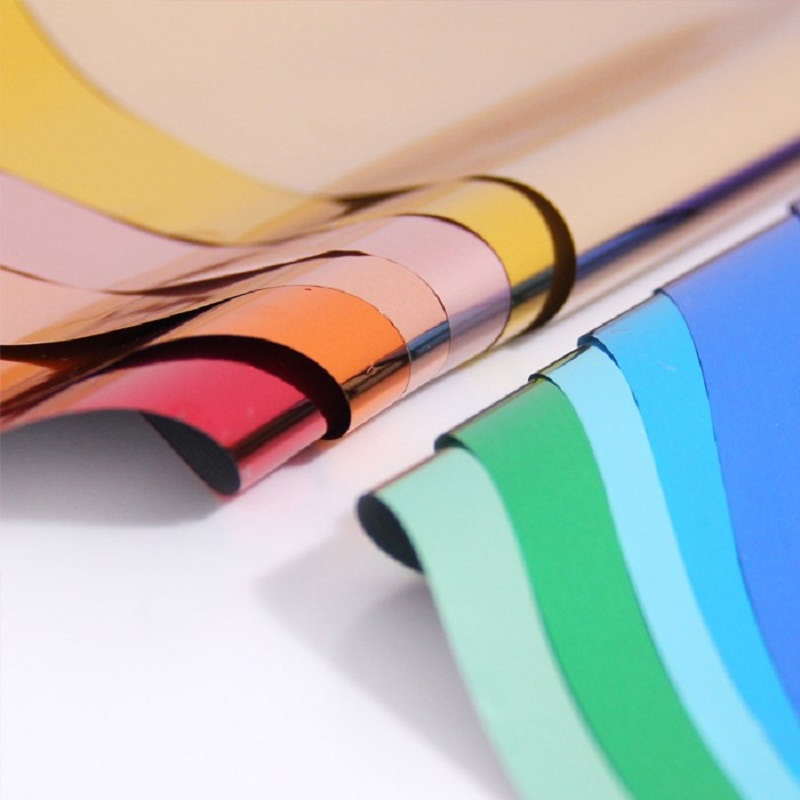 100pcs Hot Stamping Foil Paper Holographic Heat Transfer Aluminum Laminator Foil for DIY Art Craft C