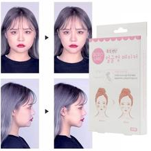 40pcs / Set v-Shaped Face Fast Lifting Face Firming Chin Thin Face Invisible Tape Female Makeup Beauty Face Lifting Tool TSLM1