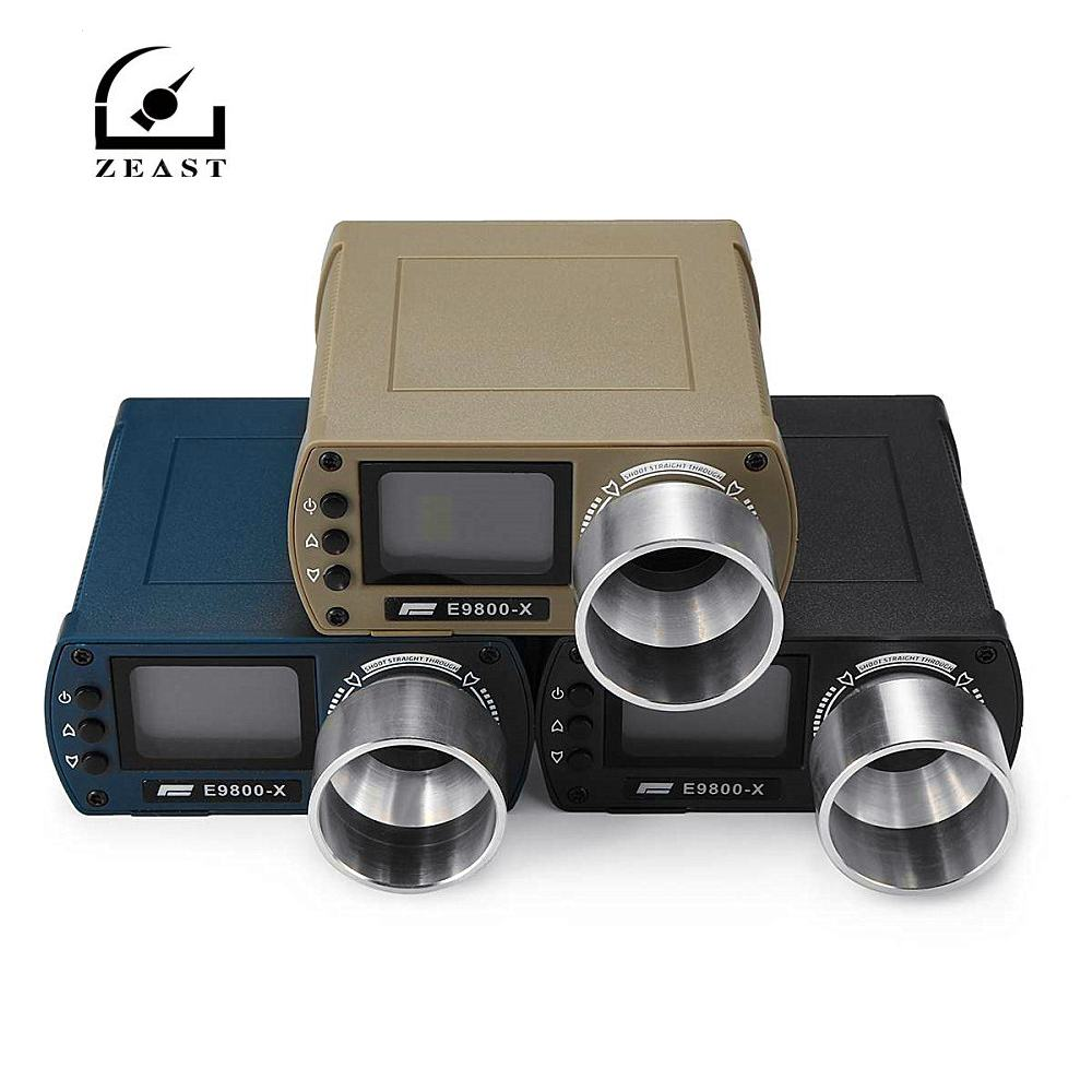 ZEAST E9800-X Shooting Speed Tester High-Precision Shooting -10C To 50C 0-500J Firing-Kinetic Energy LCD Screen