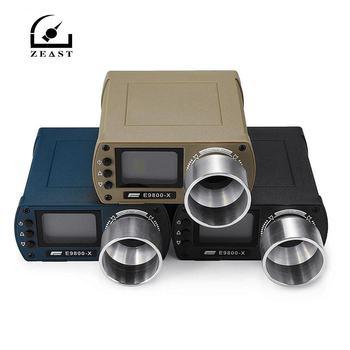 ZEAST E9800-X tester prędkości fotografowania precyzyjne strzelanie-10C do 50C 0-500J ekran LCD z energią kinetyczną tanie i dobre opinie Shooting Chronograph 0-3600 b minute(0-60 b second) 15-800 meters second(50-2600 feet second) 0-400 meters(0-1250 feet)