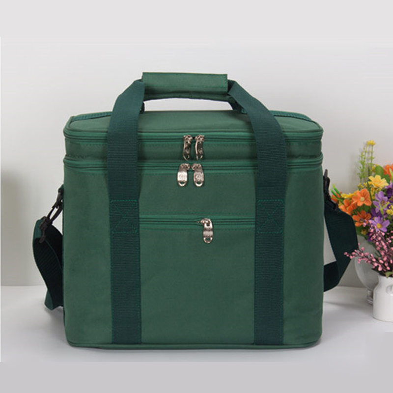 Outdoor Picnic Cooler Lunch Bags Waterproof Takeout Aluminum Foil Insulation Lunch Cold Box Picnic Bag in Picnic Bags from Sports Entertainment
