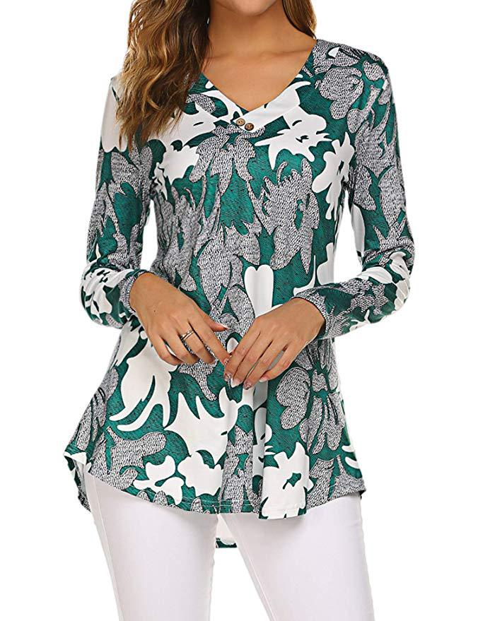 H1e5d6fac7a064182a8a204532ad725b4F - Large size Blouse Women Floral Print Long Shirts elegant Long Sleeve Button Autumn Tunic Tops Plus Size Female Clothing