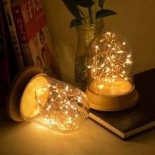 Ночник huoshuyinhua светодиодный домашний с лампой для сна прикроватная