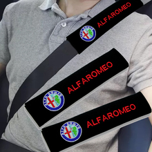 Car-Accessories Alfa Alpha Romeo Cover Protector Seat-Belt Auto-Gadget 2pcs for 159/147/156/..