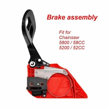 Hand Brake for Gasoline Chainsaw 5800 Chinese Chain Saw Blade Cover of the magnesium alloy made brake side cover for gasoline chainsaw 380 381aftermarket repair