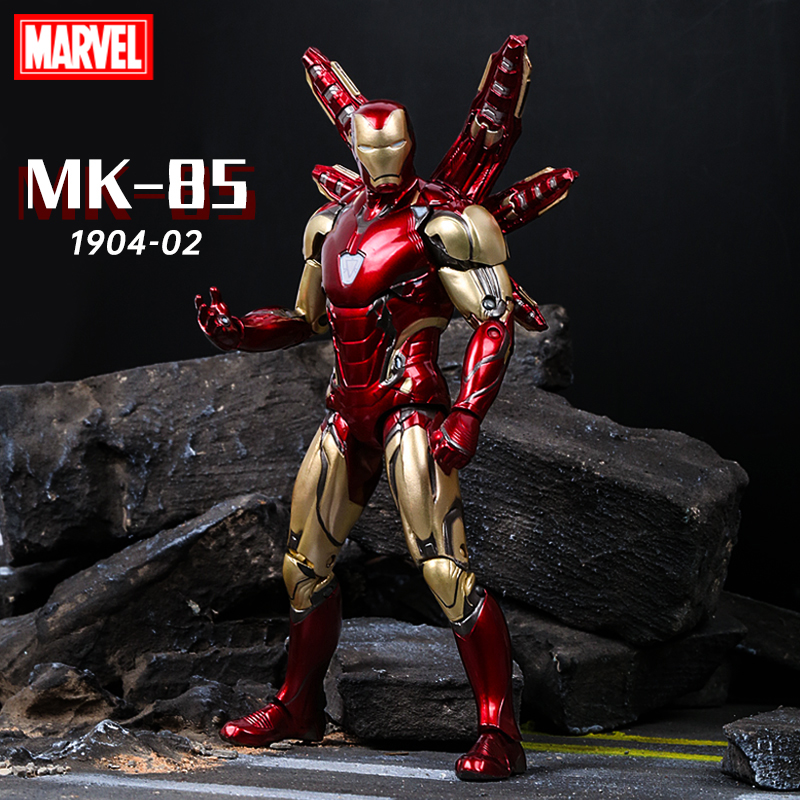 Apaffa 17cm Avengers Figma Iron Man Pepper Potts PVC Action Figure Toy Iron Man MK85 Collectible Model Toys For Children