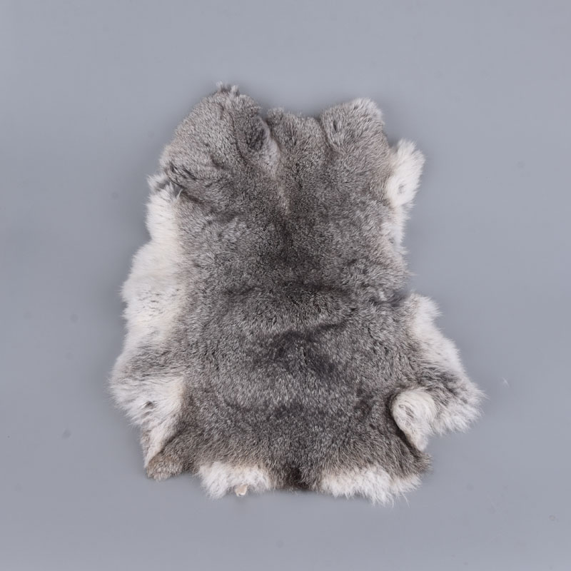 High-quality 3 Colours Pelt Genuine Rabbit Fur Raw Material Clothing Accessories Wholesale Original Rabbit Real Leather Fur