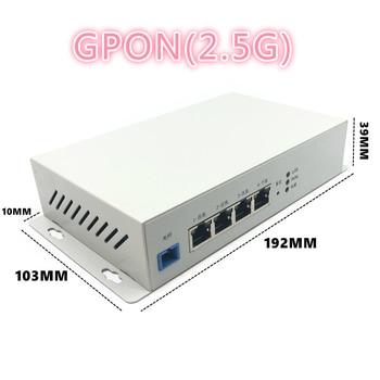 Metal enclosure outdoor industrial grade ONU 1GE+3FE ONU GPON 2.5G with FTTH NETWORK onu wifi modem 10/100/1000M RJ45 FOR OLT