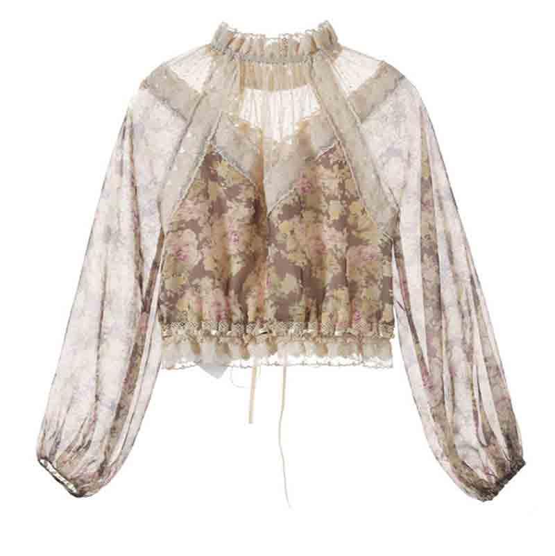 Woman Chiffon Shirts 2019