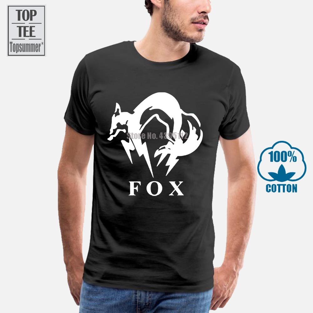 METAL GEAR SOLID 4XL FOXHOUND SPECIAL FORCE GROUP T SHIRT All Sizes ~ 3XL