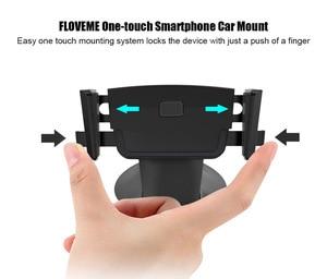 Image 3 - FLOVEME soporte para teléfono móvil Universal para Samsung S9 S8 One Touch Smartphone navegación coche para iPhone X soporte estilo soporte movil auto soporte movil coche anillo movil sujeta movil soporte movil mesa