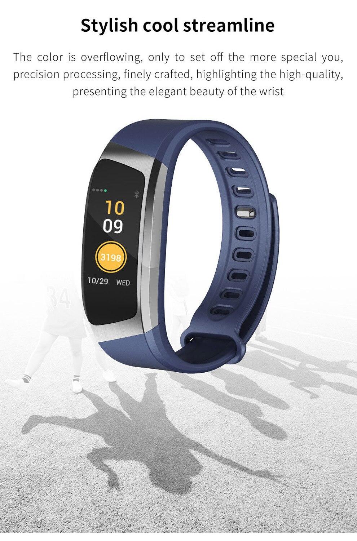 SeenDa E18 Smart Watch Sports Men Wristwatch Fitness Tracker Smart Watch  For Android And IOS Phone Bluetooth Women Smart Watch