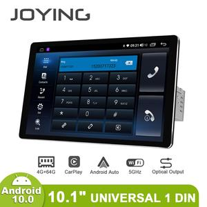 """Image 1 - 1280*800 1Din 10.1 """"Universele Android10 Auto Stereo Radio Dsp Carplay Dsp Spdif Subwoofer 5Gwifi Optische Uitgang bluetooth 5.1 Dab"""