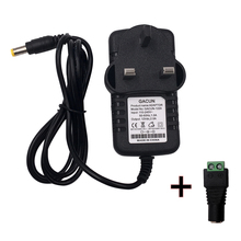 цена на Power Converter Adapter Supply EU US Plug AC 100-240V to DC 12V 2A 3A Switching Transformer Charger for LED Strip Light CCTV