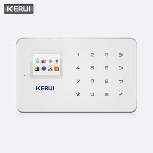 Image 2 - KERUI système dalarme de sécurité domestique sans fil G18, GSM, contrôle à distance avec application IOS/Android, appel SMS, hôte