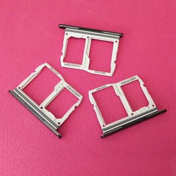 5pcs/lot Micro Sim Card Tray Holder Slot SD Card Holder Reader For LG V50 ThinQ 5G V500 Repair Parts