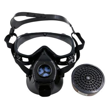 Chemical mask Gas Mask acid dust Respirator Paint Pesticide Spray Silicone filter Lightweight Full Face Tools high quality respirator gas mask brand practical type protective mask painting pesticide industrial safety chemical gas mask