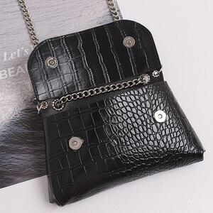 Image 4 - Fashion Womens Waist Bag Leather Belt Bags Fanny Pack High Quality Chain Waist Packs Hip Pack Multifunction Crossbody Handbag