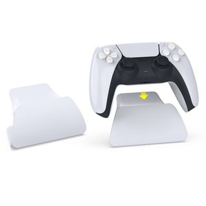 Image 3 - Controller Display Stand Holder Mount With USB Charging Cable for PS5 Gamepad