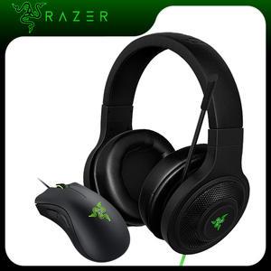 Razer Headphone Gaming-Mouse Essential Deathadder Laptop/phone-Gamer with Mic Razer/Deathadder/Essential/6400dpi