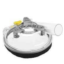 """Kit de carénage de poussière couvercle de poussière de meulage à sec pour meuleuse à main dangle clair 4 """"/ 5"""" livraison directe en gros"""