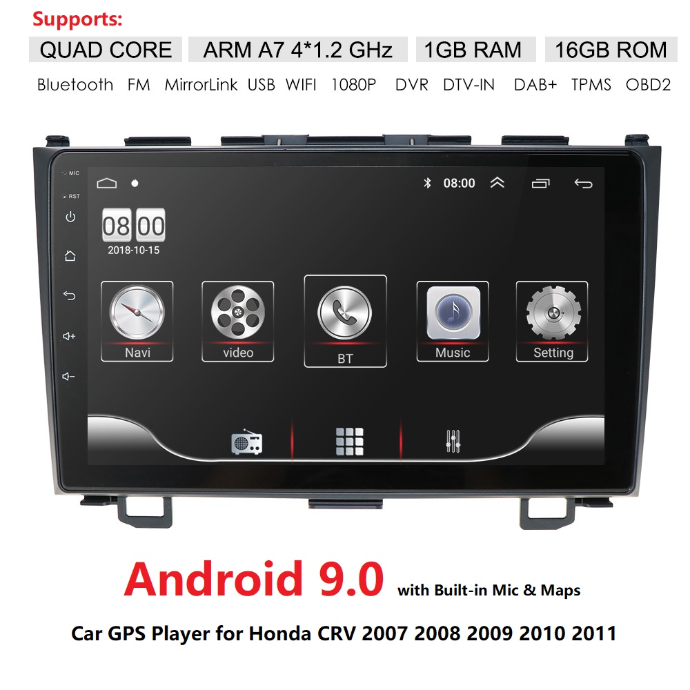 Car Radio Multimedia Player 2 din 9