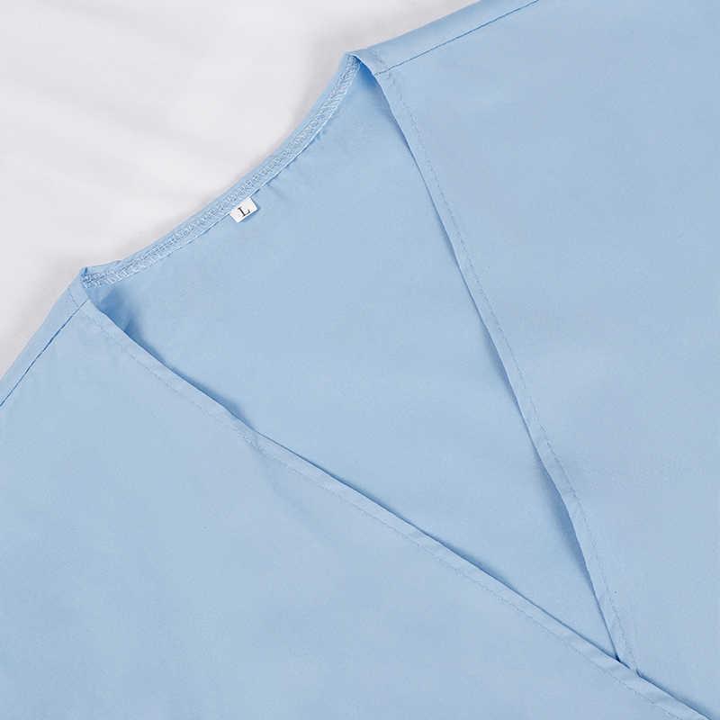 Midi Party Schärpen A-linie frauen Kleid Plissee Kurzarm V-ausschnitt Kleider Damen Büro 2020 Sommer Mode Taschen Vestidos