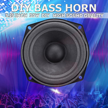 30W 5.25 Inch DIY Bass Horn Speaker HIFI Strong Subwoofer Lo