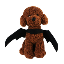 Halloween Cat Bat Wings Collar Harness Decor Puppy Pet Cat Black Bat Dress Up Funny Wing Cat Clothes Accessory Christmas Gifts 4
