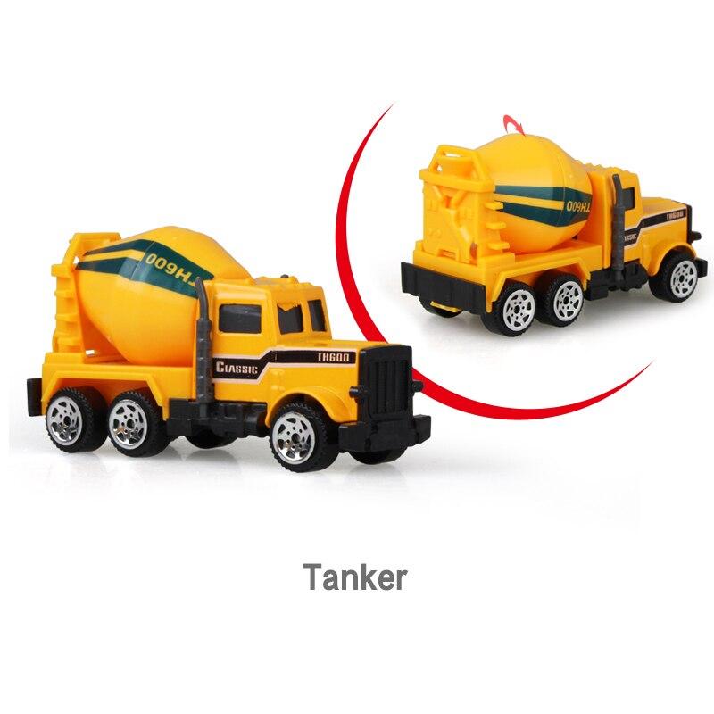 Литая под давлением сельскохозяйственная техника мини-модель автомобиля Инженерная модель автомобиля трактор инженерный автомобиль трактор игрушки модель для детей Рождественский подарок - Цвет: Tanker