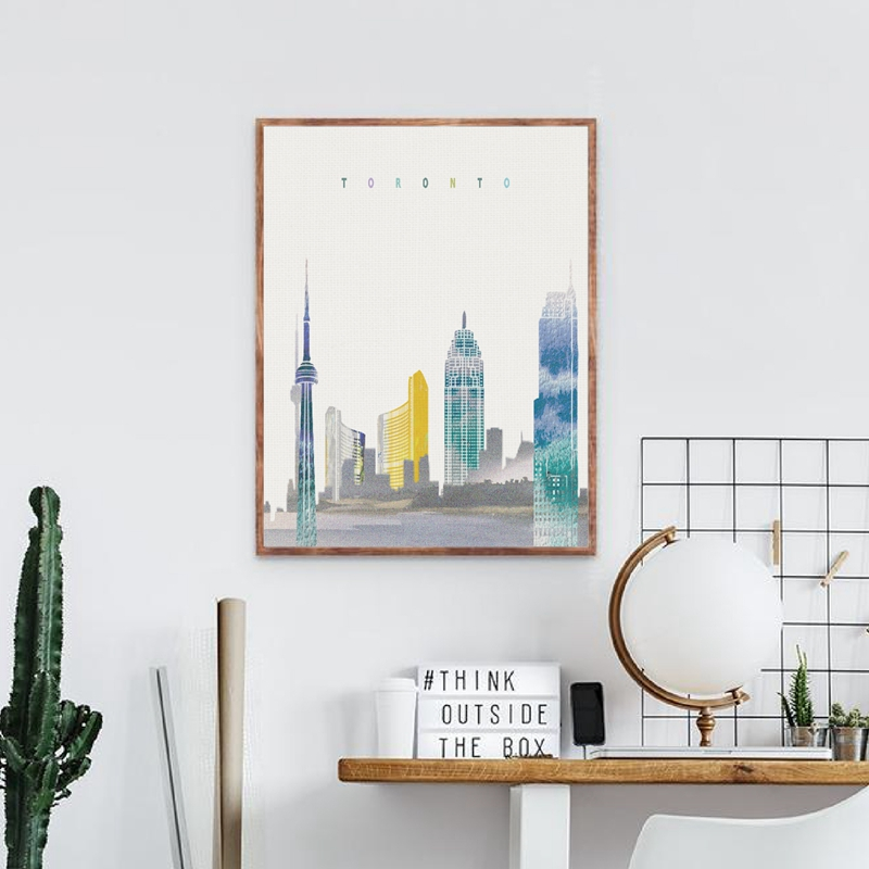 Toronto Wall Art Prints Home Decor