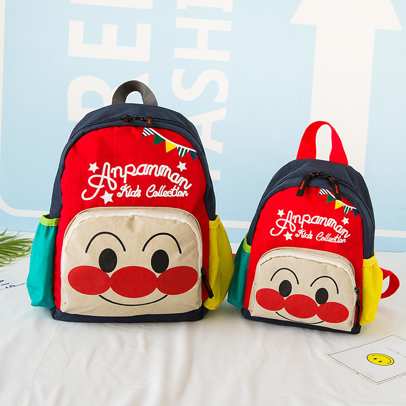 High Quality Men And Women Children Schoolbag For Elementary School Students Bread Superman Cartoon Qin Zi Bao Baby Nursery Back