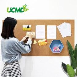 Tablero de corcho magnético de 120x60cm, tablón de anuncios con recordatorio de notas para mensajes, decoración del hogar, calendario de oficina, tablero de visualización de archivos de fotos, pines de empuje