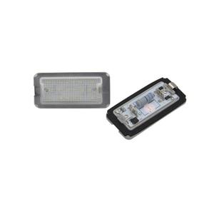 12V 18SMD 2PCs CANbus Xenon Weiß Led Anzahl License Platte Licht Lampe Für Fiat 500 / Abarth 500 2007-2016