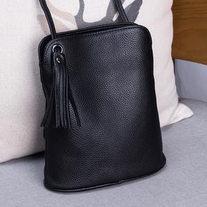 Image 2 - 本革タッセルクロスボディバッグ女性の高級財布レディーススモールショルダーバッグファッションマネー財布女性メッセンジャーバッグ
