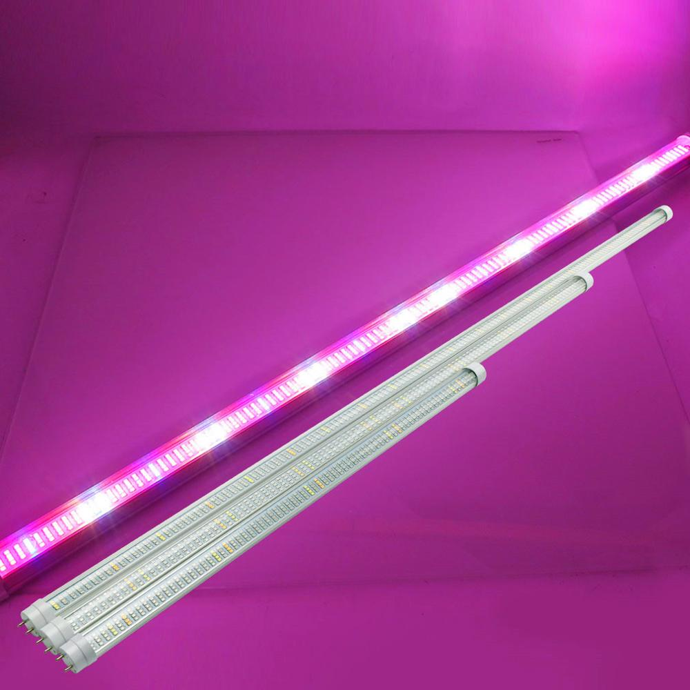 10PCS LED Grow Light Full Spectrum T8 Tube LED Indoor Plant Lamp Hydroponic System Greenhouse LED Lamps For Plants And Flowers