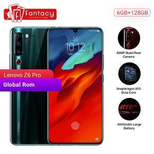 "Image 1 - Global ROM Lenovo Z6 Pro 6GB 128GB Smartphone Snapdragon 855 Octa Core 6.39"" 1080P Display Fingerprint Rear 48MP Quad Camera"
